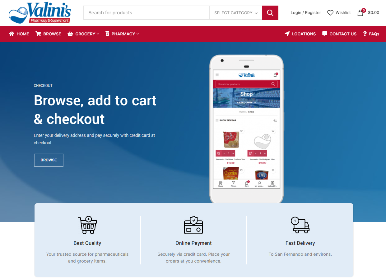 Online Supermart